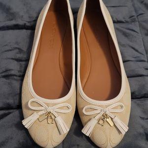 COACH Benni Ballet Sandals